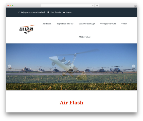 Fenimore premium WordPress theme - ulm-airflash.com