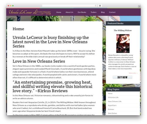 Keilir by Bluthemes garden WordPress theme - ursulalecoeur.com