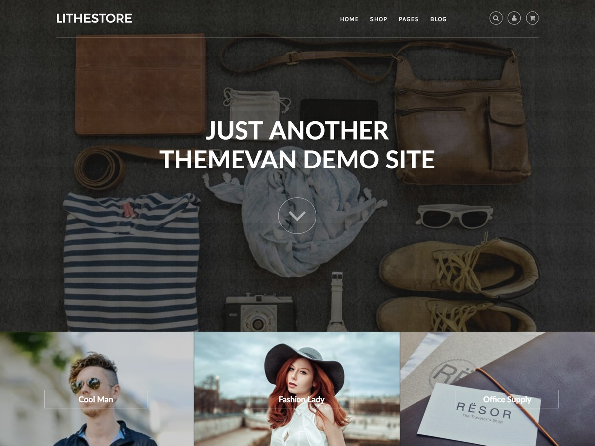 LitheStore free WordPress theme