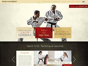 Martial Arts V8 theme WordPress