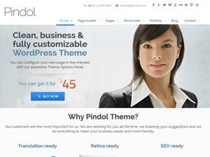 pindol (shared on wplocker.com) WordPress theme