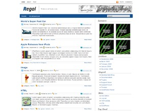 Regal best WordPress magazine theme