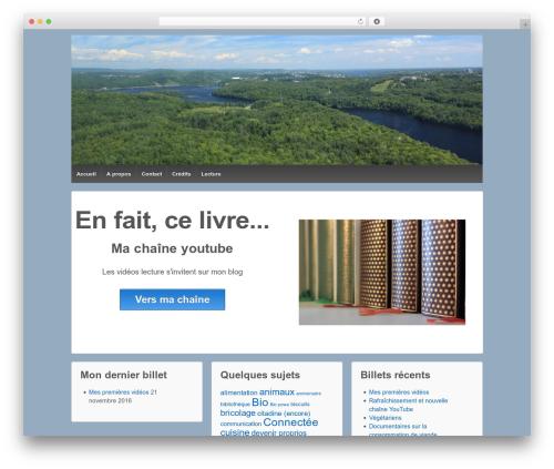 Responsive template WordPress free - unecitadinealacampagne.ch