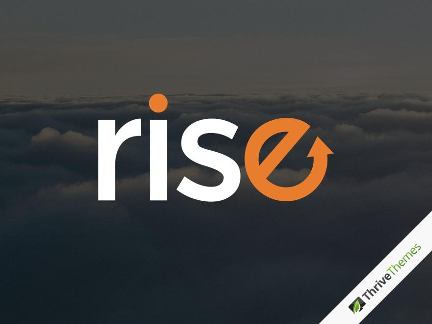 Rise template WordPress