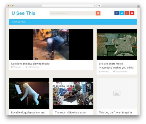 SociallyViral by MyThemeShop WordPress video theme - useethis.com