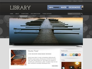 Theme WordPress library