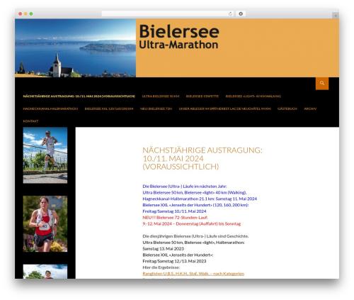 Theme WordPress Twenty fourteen child - ultrabielersee.ch
