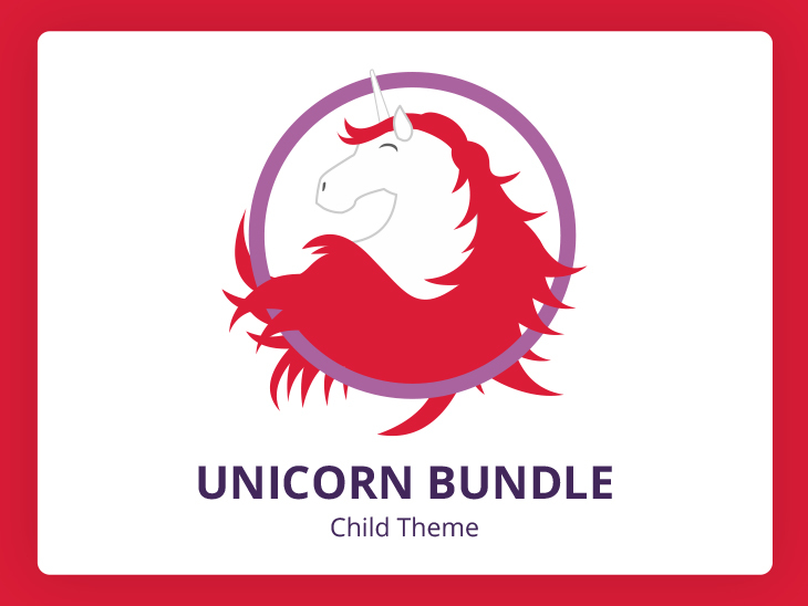 Theme WordPress Unicorn Bundle Divi Child Theme