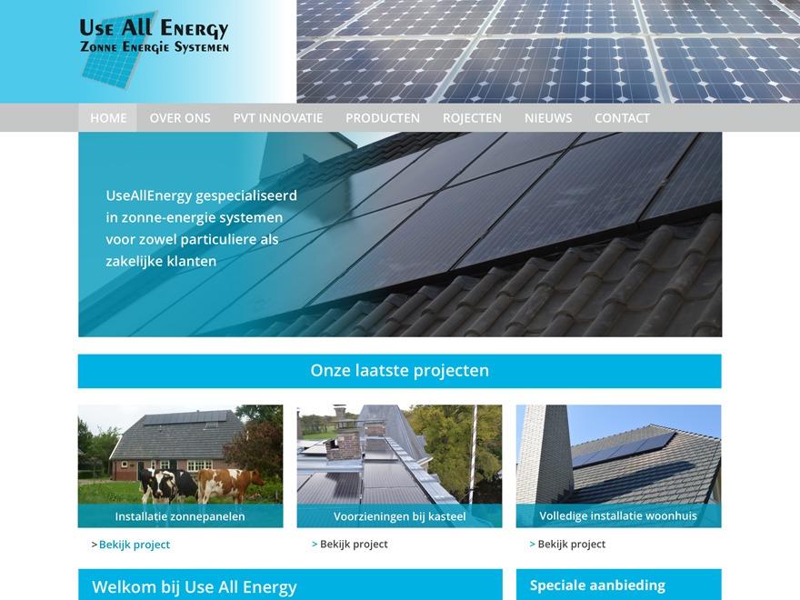 Theme WordPress Use All Energy