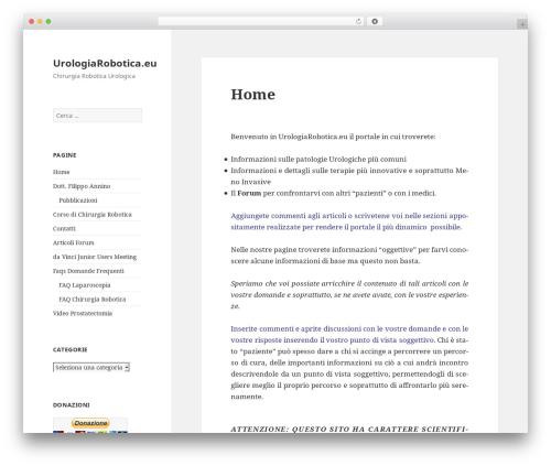 Twenty Fifteen WordPress template free - urologiarobotica.eu