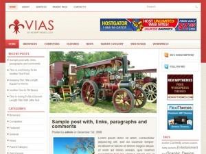 Vias best WordPress video theme