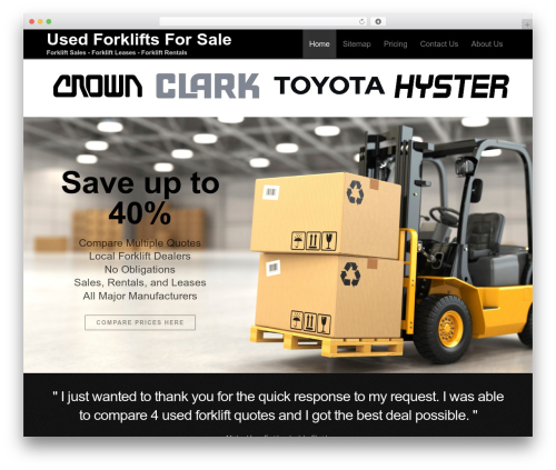 Free WordPress WP SEO HTML Sitemap plugin - used-forklifts-for-sale.com