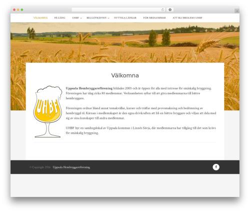 WordPress theme Bulan - uhbf.se
