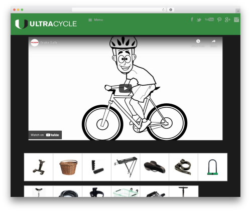 Free WordPress Scroll Top plugin - ultracyclebikeparts.com