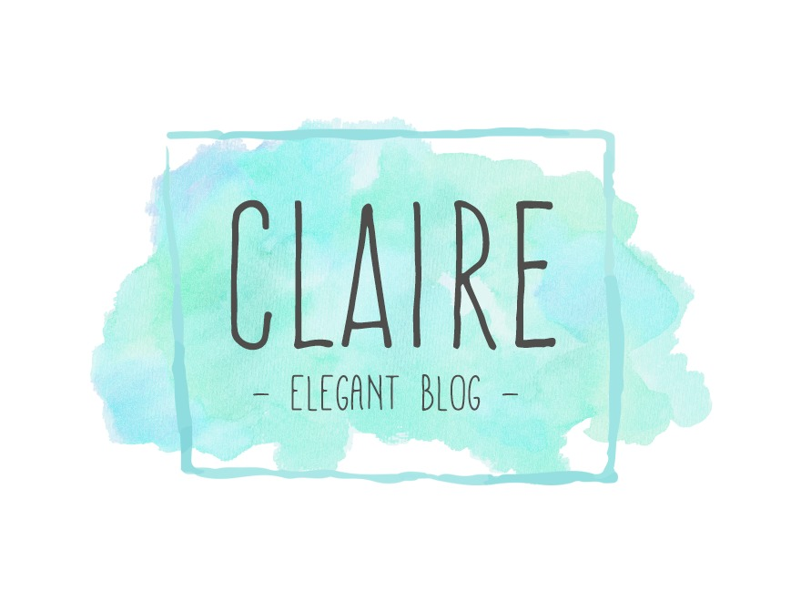 WordPress website template claire