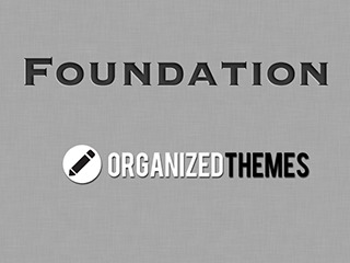 WordPress website template Foundation