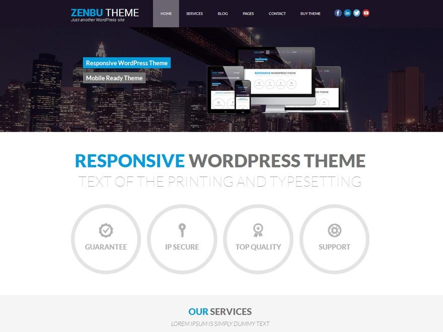 Zenbu PRO business WordPress theme