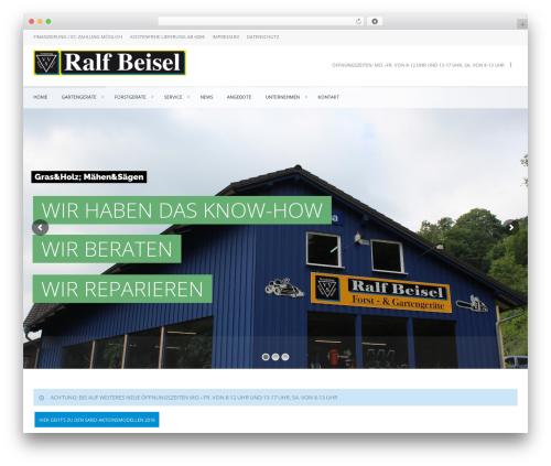 Best WordPress template Marine Wordpress Theme 01052015 - beisel-sensbachtal.de