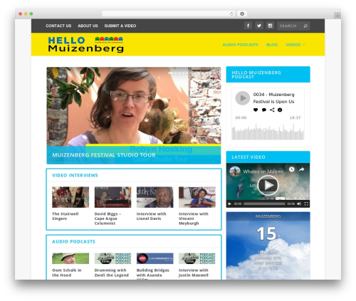 Best WordPress theme Extra - hellomuizenberg.com