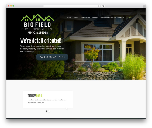 Free WordPress Ultimate Responsive Image Slider Plugin plugin - bigfieldhomeimprovement.com