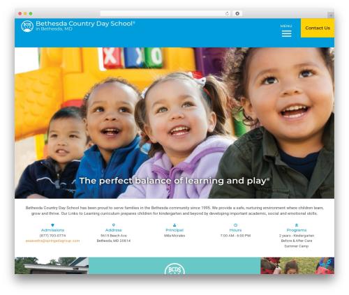 Nobel Learning top WordPress theme - bethesdacountrydayschool.com