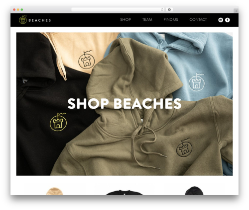 Free WordPress WP Store Locator plugin - beachesapparel.com