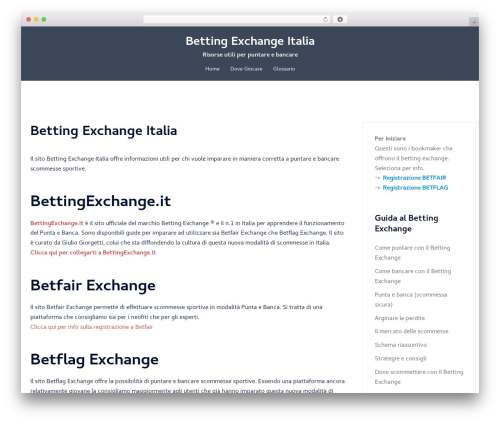 Sydney free website theme - bettingexchangeitalia.com