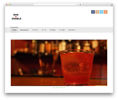 Theme WordPress bar-a-znable - bar-a-znable.com