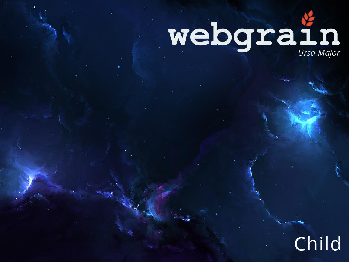 Webgrain Child Theme WordPress theme