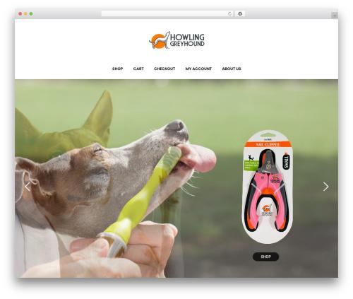 WordPress theme Bazaar - howlinggreyhound.com