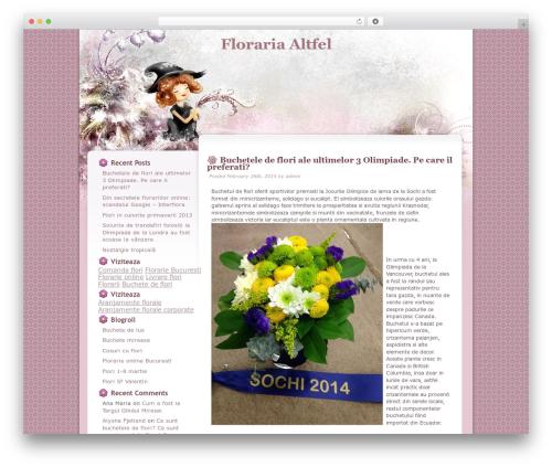 WordPress theme Floral Belle - blog.florarieonline-altfel.ro