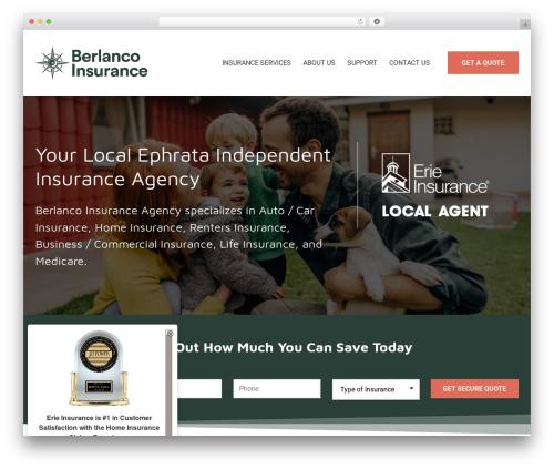 BrightFire Stellar template WordPress - berlanco.com