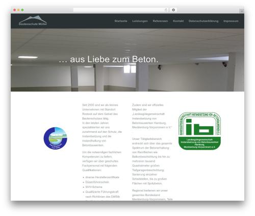 DI Basistheme based on ET Divi WordPress theme design - bautenschutz-mueller.de