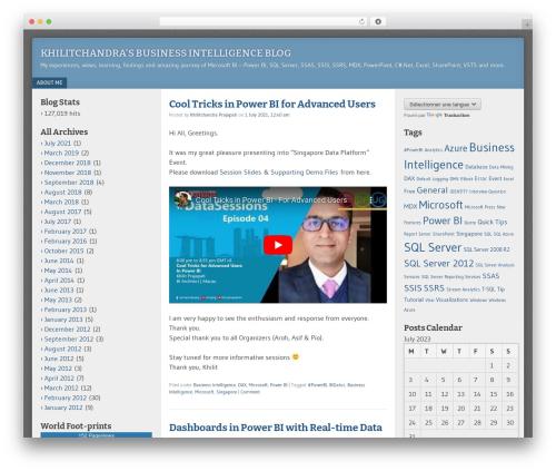 Free WordPress Power BI Embedded for WordPress plugin by Atlas