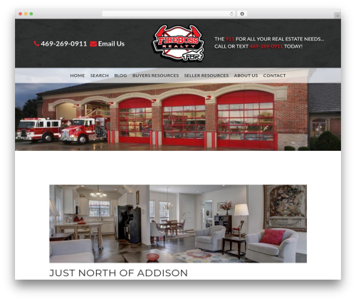 Madison business WordPress theme - blog.firebossrealty.com