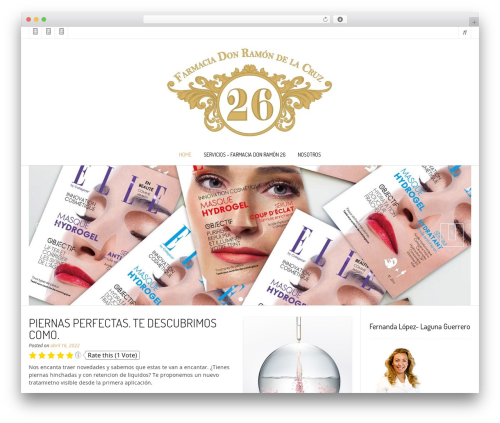 Nikkon WordPress template free - blog.farmaciavelazquez70.com