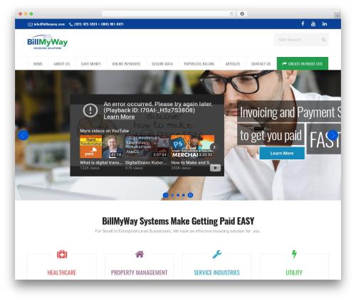 California WordPress theme - billmyway.com