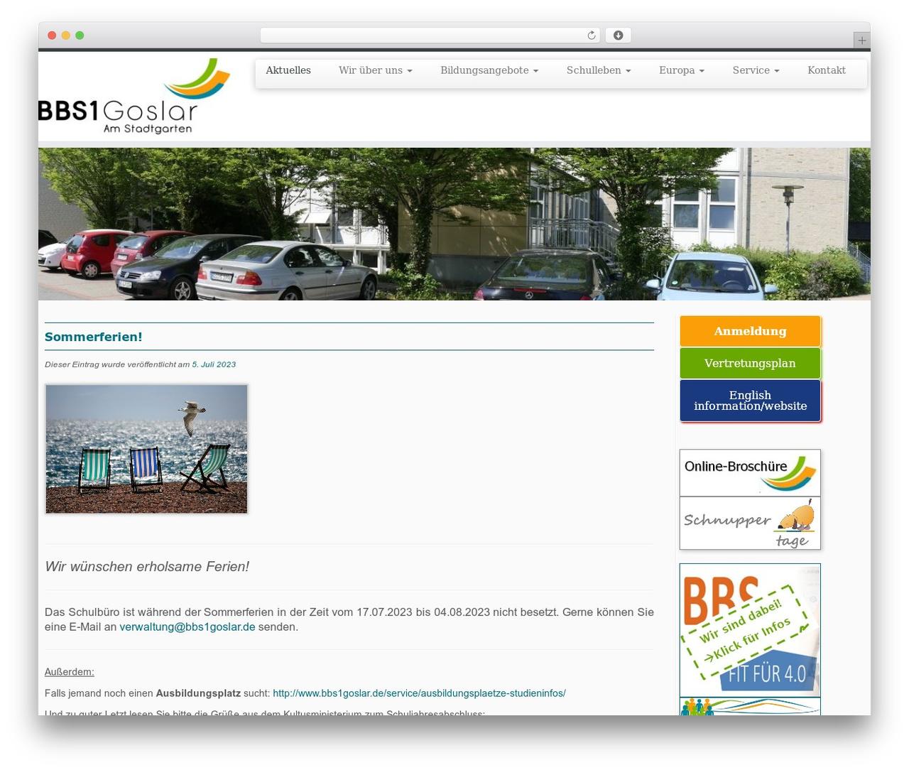 Customizr theme WordPress free - bbs1-goslar.de
