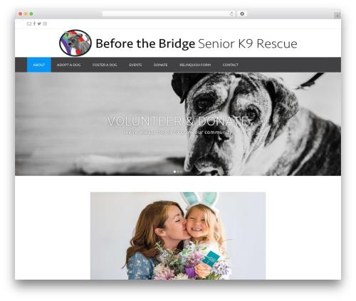Dustland Express WordPress theme - beforethebridge.ca
