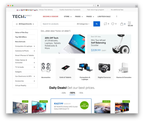 Techmarket theme WordPress - befrench.fr
