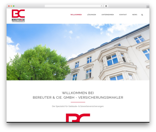 Theme WordPress Aperio - bereuter-cie.de