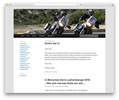 Free WordPress Category – RSS widget menu plugin - beste-on-tour.at