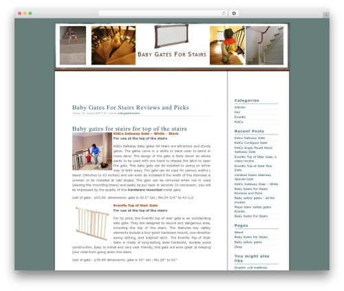 Dialogue best WordPress template - baby-gates-for-stairs.com