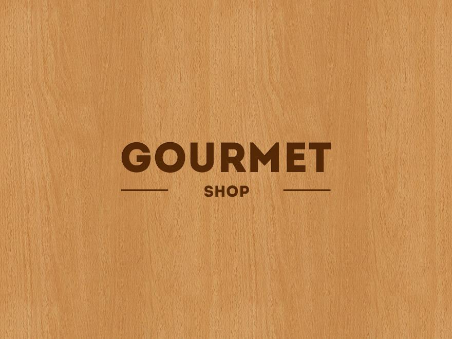 Gourmet Shop WordPress ecommerce theme