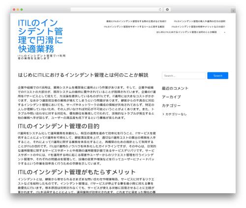 ioBoot WordPress theme - benoitsokal.com