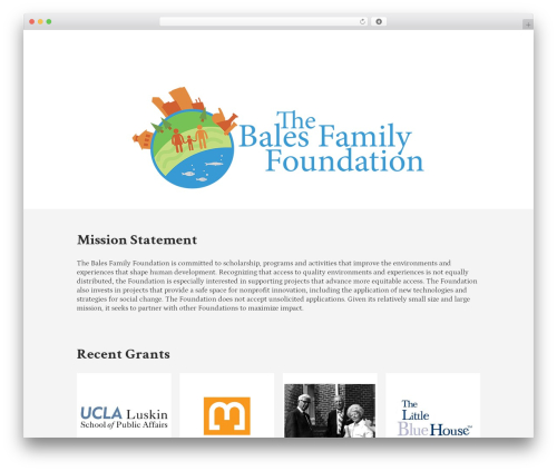 Lion - WordPress Theme WordPress theme - balesfamilyfoundation.org