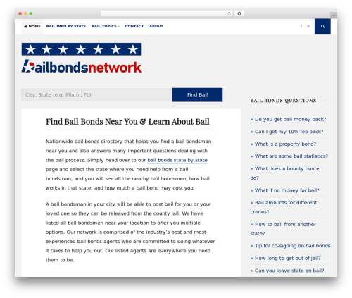 Free WordPress DW Question & Answer plugin - bailbondsnetwork.com