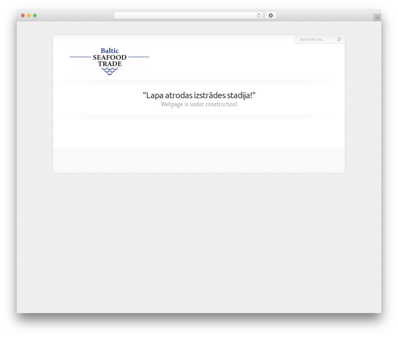 Theme WordPress Chameleon - balticfishgroup.com