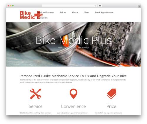 WordPress template Divi - bikemedicplus.com