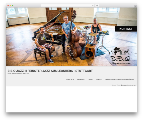 WordPress theme SKT White - bbq-music.com